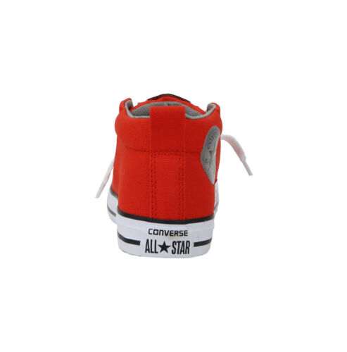 Converse Chuck Taylor All Star CT AS Street Mid Boys Shoes Sneakers-Signal Red