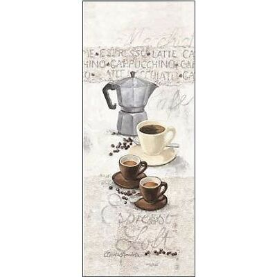 Claudia Ancilotti : Espresso Loft civière-image de l'écran café cuisine moderne