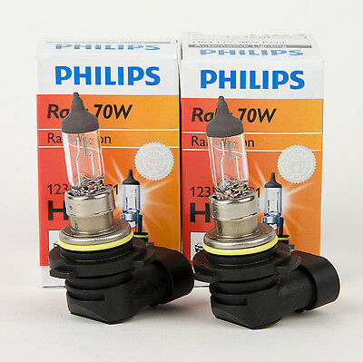 4 Qty Philips 9006 Halogen 55W 12V Low//High Beam Headlight Clear