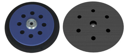"""Backing pad hard 6/"""" Ø 150mm for Makita BO6030 BO6040 6 holes Hook and Loop DFS"""