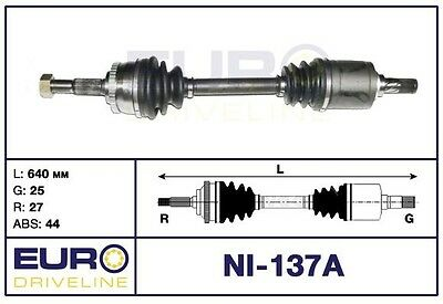 Antriebswelle Nissan Primera P11 WP11 1.8 ABS links