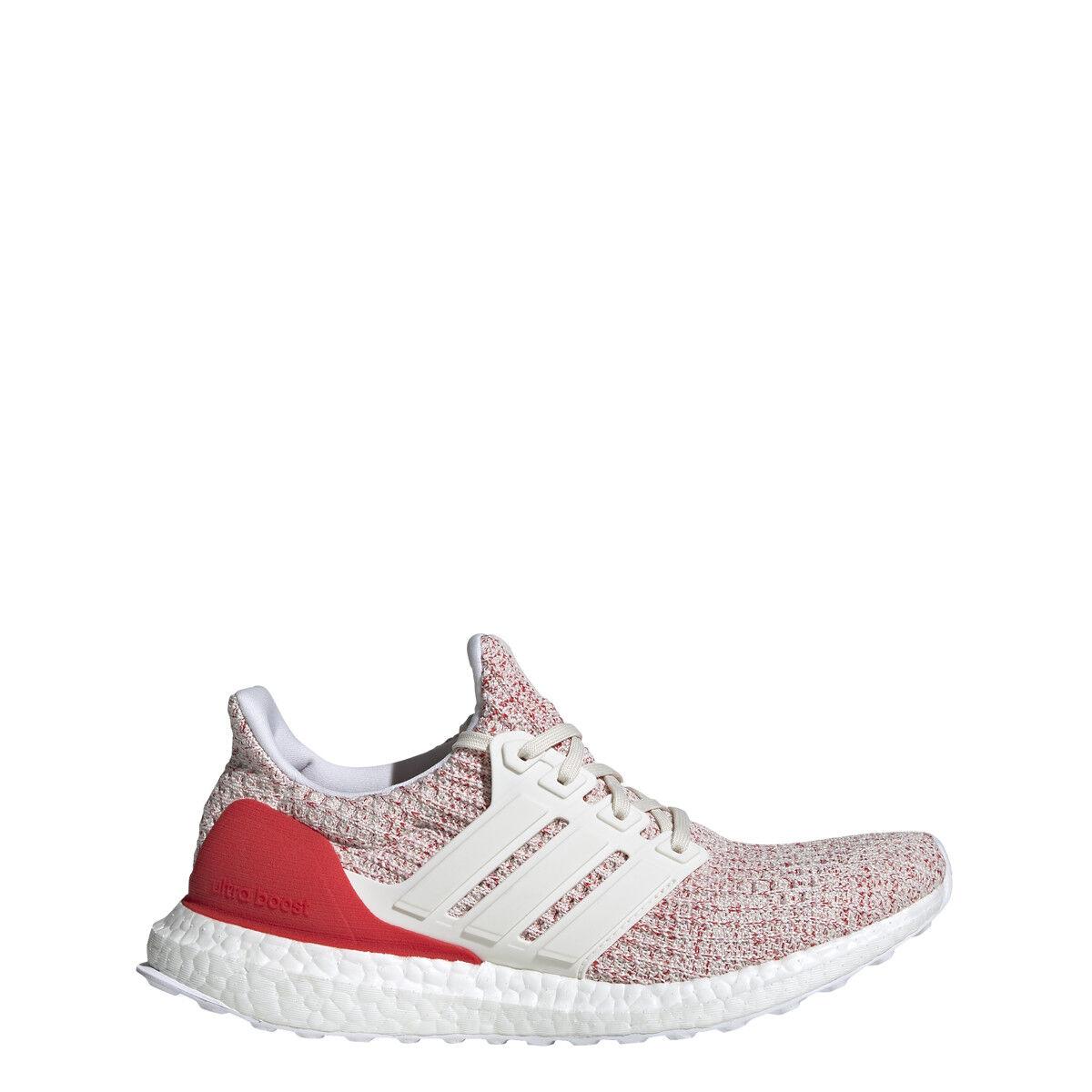 Adidas Womens ULTRABOOST W White White Red - DB3209