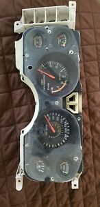 84 86 mustang 2 3t turbo svo canadian instrument cluster 225 kmh 140 mph rare ebay ebay