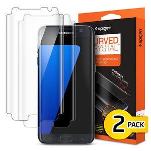 Spigen-Curved-Crystal-protecteur-d-039-ecran-incurve-Film-pour-Samsung-Galaxy-S7Edge