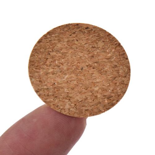 Handmade Cork Labels Adhesive Sticker DIY Bottle Packaging Sealing Tags Supplies