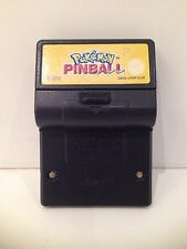 ♠ Nintendo Jeu Pokemon Pinball Vribrrrrrrre !!! Game Boy Classique Monochrome  ♠