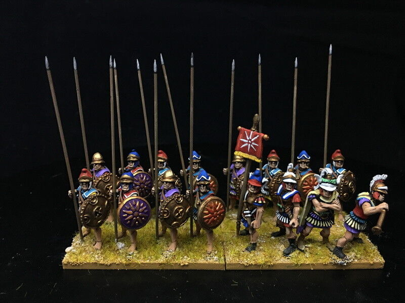 1 56 28mm Ancient Ancient Ancient DPS painted DBMM FOG ADLG Macedonian Pikeman RC961 412858