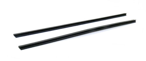 2x Baguette Barre Protection Barre Türscheibe Mercedes w123 w126 a1267250365