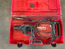 Hilti Te1000 Avr Demolition Breaker Hammer With Case And Two Bits