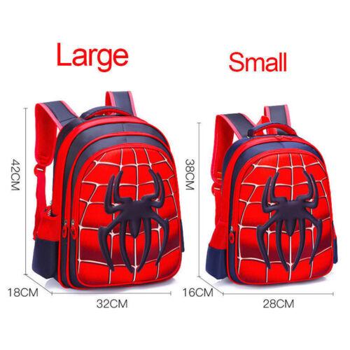 Homecoming School Bags for Boys /'Enfants/'s Enfants Sac Spider-Man sac à dos cartable