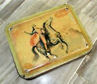 Vintage old Asso Sweet Ad litho Tin Box Bombay