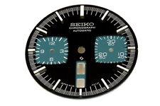 Dial for Seiko 6138-0040 automatic black bull-head chronograph