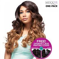 [one-pack Complete] Human Hair B Weave Sensationnel Too Xl Mixx - European Wave