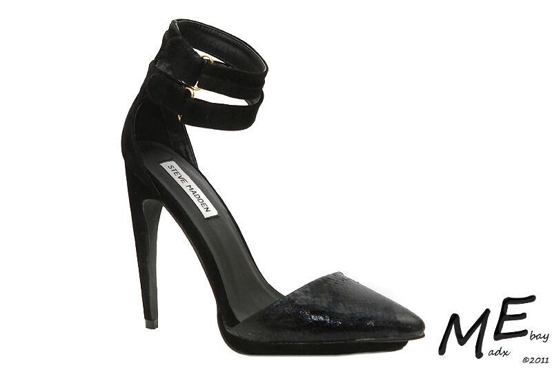 Nouveau Steve Madden najii femmes chaussures Sz 7 ESCARPINS noir