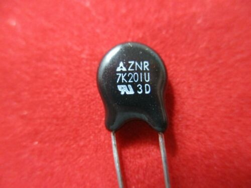 QTY10 PANASONIC ERZ-C07DK201 VARISTOR  130-volt 7MM DIAMETER RADIAL