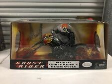"""Hasbro Ultimate Ghost Rider & Flame Cycle Marvel Legends 12"""" Action Figure"""