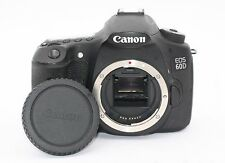 Canon EOS 60D 18.0MP Digital SLR Camera - Black (Body Only) - Shutter Count:3251