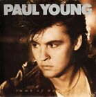"""PAUL YOUNG tomb of memories/man in the iron mask A6321 uk cbs 1985 7"""" PS EX/EX"""