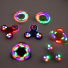 LED-light-Fidget-Hand-Spinner-Torqbar-Brass-Finger-Toy-EDC-Focus-Gyro-Gift