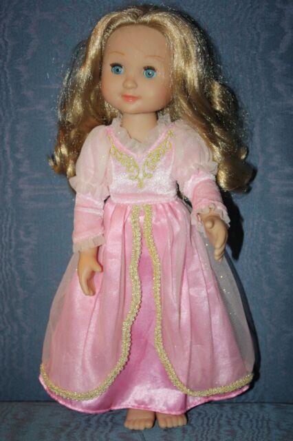 Melissa /& Doug Mine To Love Princess Celeste Beautiful Dress Poseable 14 In Doll