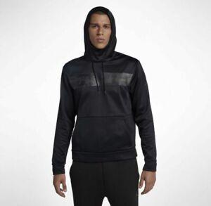 Nike-Air-Jordan-23-Alpha-Therma-Mens-Pullover-Hoodie-AUTHENTIC-AO8863-010-Sz-M