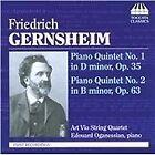 Friedrich Gernsheim - : Piano Quintet No. 1 in D minor, Op. 35; Piano Quintet No. 2 in B minor, Op. 63 (2010)