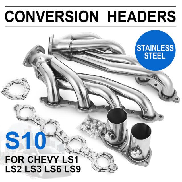 Manifold Conversion Exhaust Swap Headers Ls1 Ls2 Ls3 Ls6 Ls Engines Truck Suv For Sale Online Ebay
