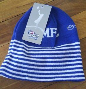 57c09df06b1 Image is loading North-Melbourne-Kangaroos-AFL-Beanie-AFL -OFFICIAL-MERCHANDISE