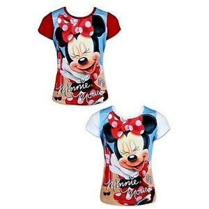 T-Shirt-Manches-courtes-Minnie-Disney