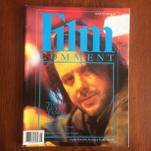 Film Comment August 87 Charles Bukowski Almendros Cannes At 40 Movie