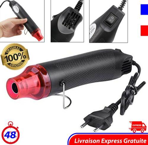 Pistolet à Air Chaud Décapeur thermique Voiture Bricolage Décoration 4 types