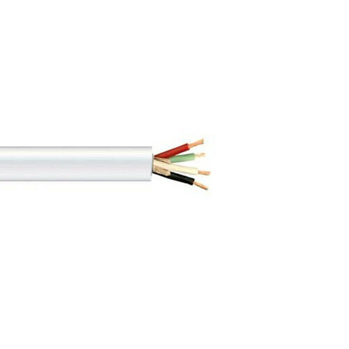 150/' 12//4 STOW White Portable Power Cable Flexible UL//CSA Wire 600V