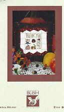 Thankful Heart Cross Stitch Chart Shepherds Bush + Button REDUCED PRICE