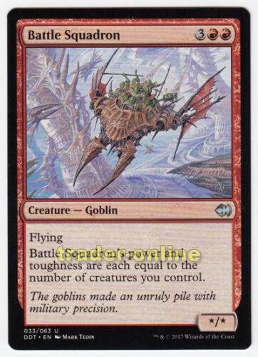 Goblins Magic MTG Angriffsschwadron Merfolk vs 2x Battle Squadron