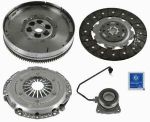 4pc-Sachs-Clutch-Kit-Opel-Insignia-2-0CDTi-08-includes-DMF-Flywheel-amp-Concentr