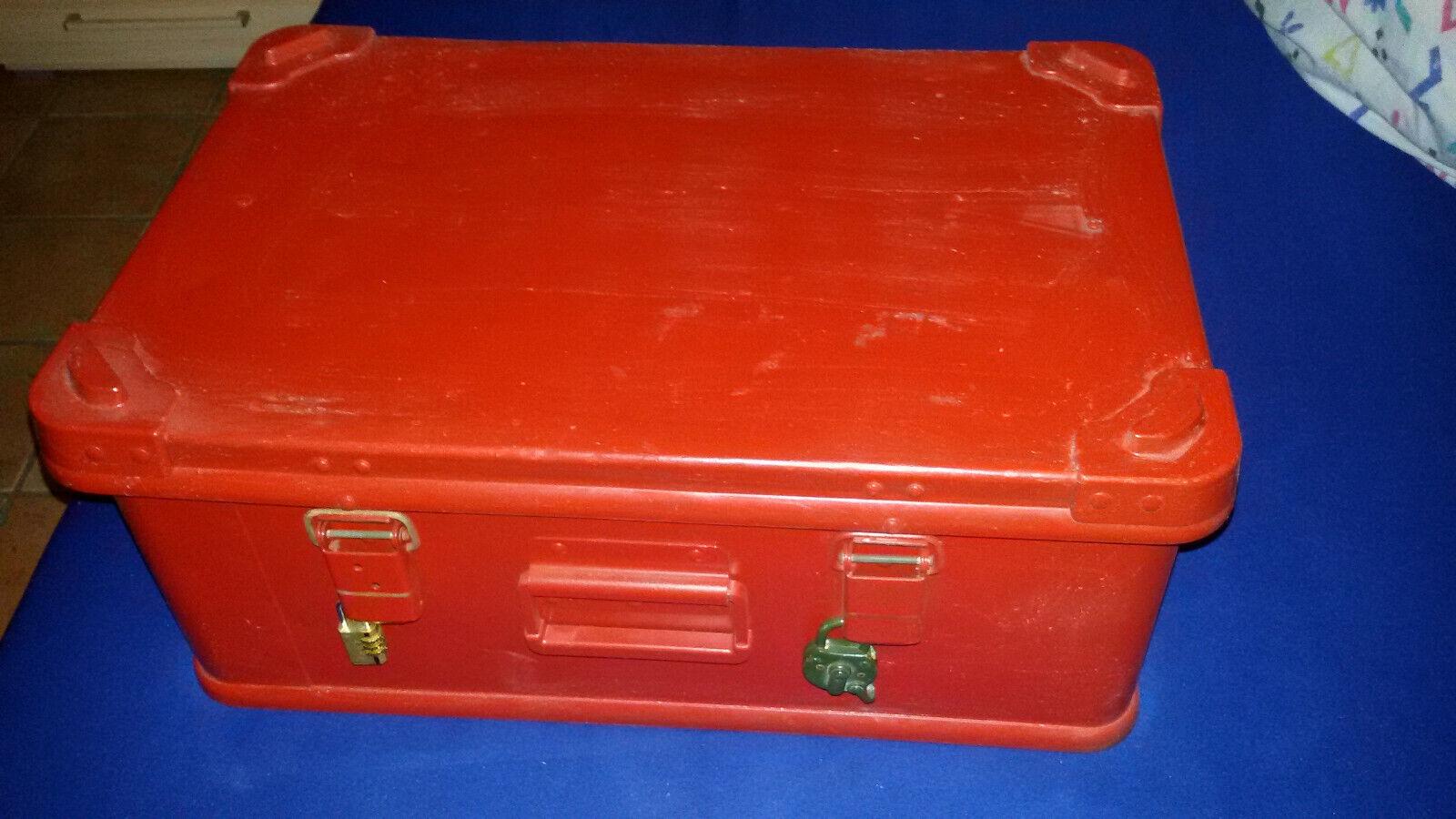 Zargesbox ALU en Color que deseas pastillero a5 aluminio Bundeswehr ca 593924 cm