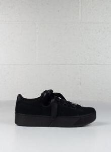Schuhe Puma Vikky Platform Ribbon S Taglia Taglia Taglia 40 366418 01 Nero     dbe53e