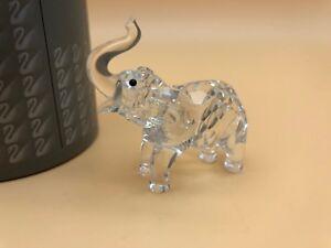 Swarovski-Figurine-Bebe-Elephant-6-5-Cm-avec-Emballage-et-Zertifikat-Haut-Etat