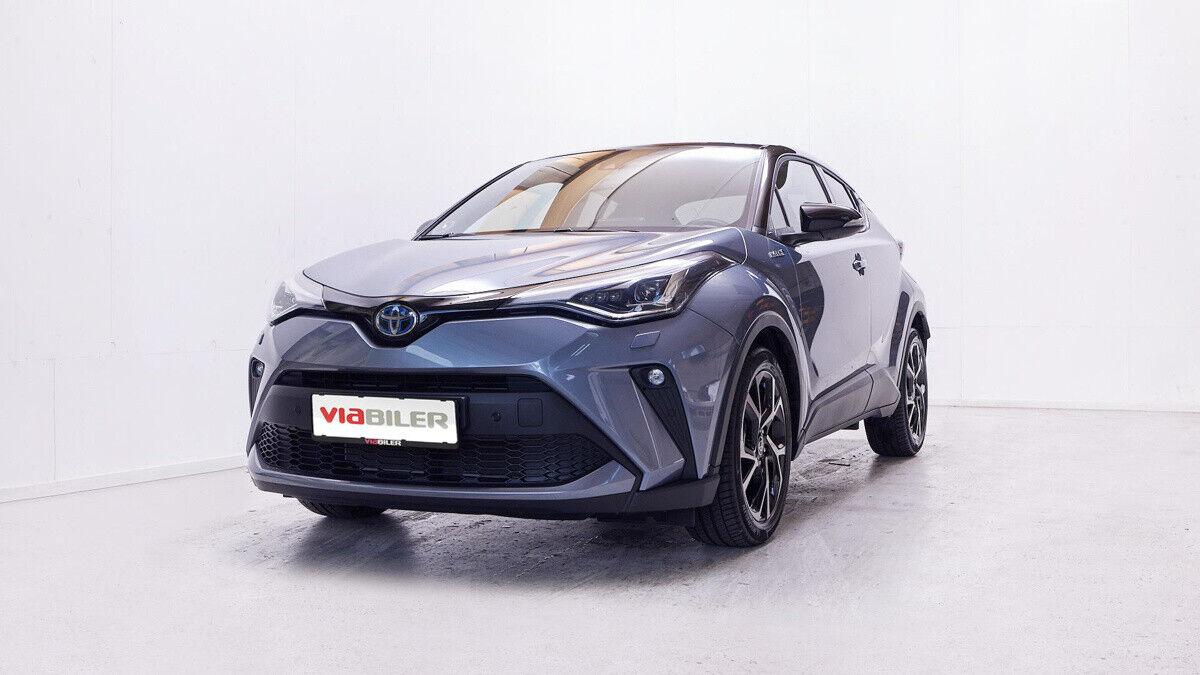 Toyota C-HR 1,8 Hybrid C-LUB Premium CVT 5d - 299.800 kr.