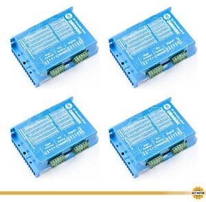 DE Free 4PCS Schrittmotortreiber DM860H 7.2A 24-80VAC 24-110VDC Nema34 Driver