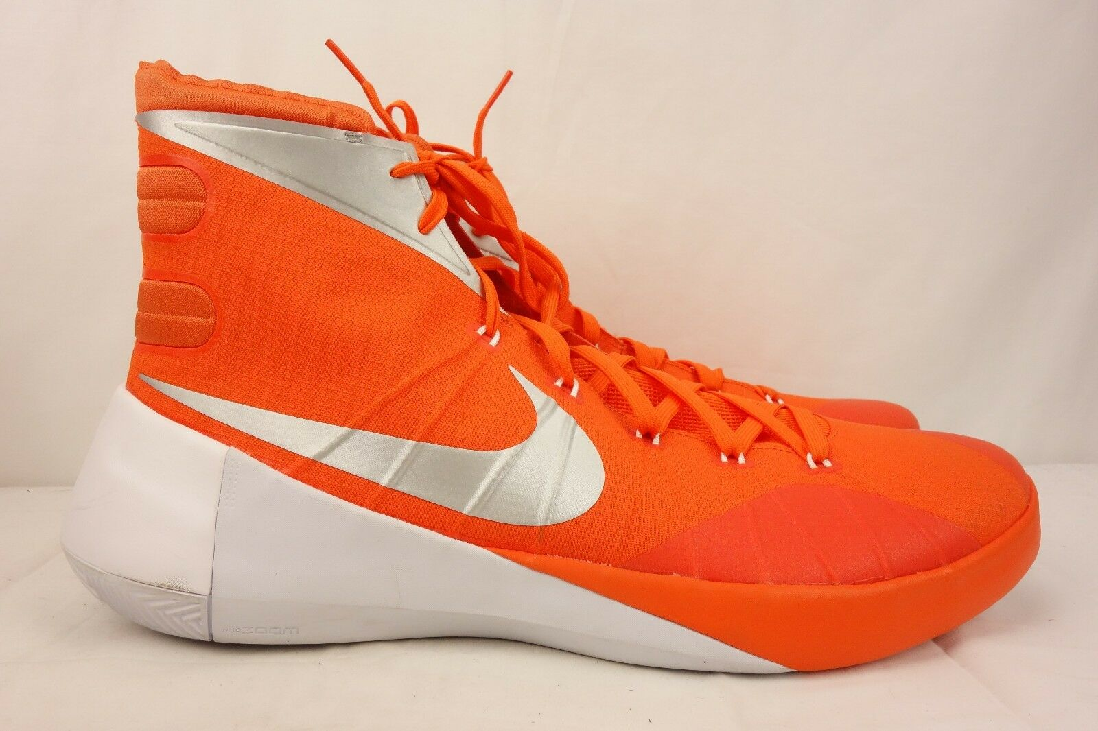 NEW NIKE Hyperdunk Basketball Game Shoes Men's 17.5 M Game Basketball Orange 812944-801 d4be85