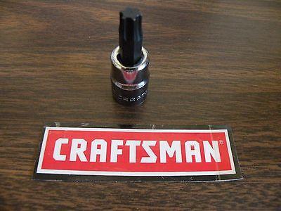 New Craftsman 1/4 or 3/8 Dr Drive Torx Bit Socket Reg or External Choice of Size