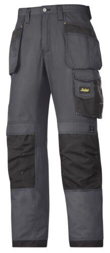 Snickers 3213 Ripstop pantalon snickersdirect acier gris-noir