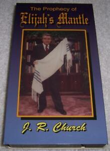 Details about The Prophecy of Elijah's Mantle by J  R  Church VHS Video  Jewish Prayer Shawl