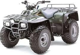 1986-2006 Kawasaki KLF300, Bayou 300 4x4, 4x2 ATV Workshop Manual on CD