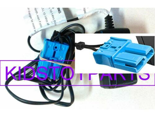 NEW! 12 Volt Battery Charger for Kid Trax Battery Powered RideOn Toys Large