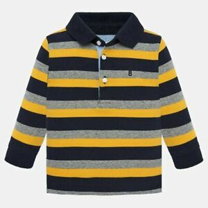Mayoral-Infant-Boys-Long-Sleeved-Striped-Polo-Shirt-02105-Aged-18-36-Months