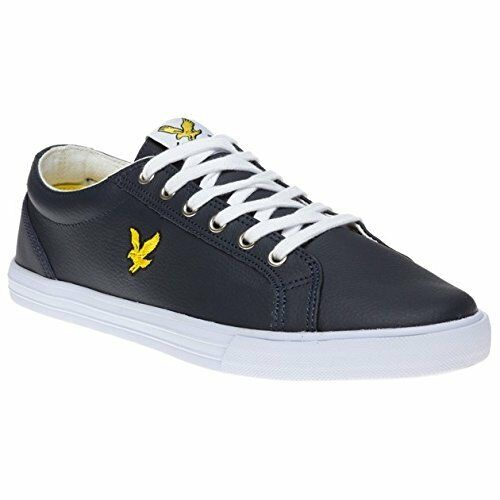 BNIB LYLE & SCOTT STYLE FW060 6 HALKET LEATHER NAVY Talla 6 FW060  65 99dcfb