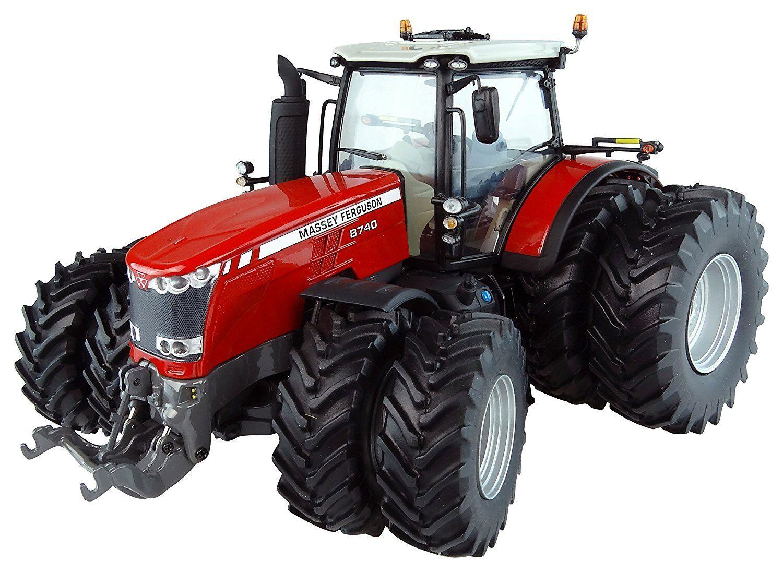 5243 , MF 8740 mit dual wheels 1 32 Universal Hobbies
