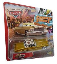 DISNEY CARS 1:55 TEX DINOCO CADILLAC BERLINA ORO Radiator Springs Classics serie